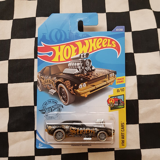 Hot Wheels 2020 Art Cars Rodger Dodger Black
