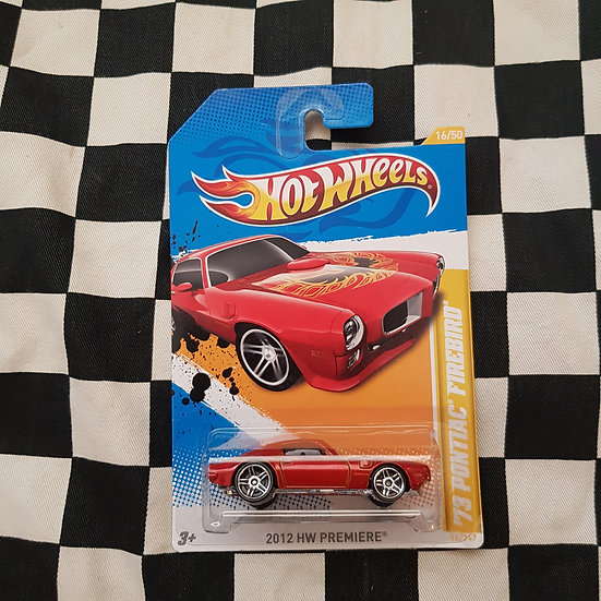 Hot Wheels 2012 First Edition 73 Pontiac Firebird
