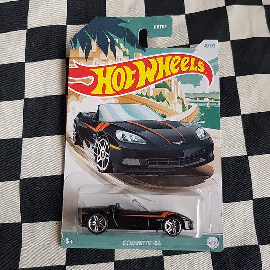 Hot Wheels Themed Roadsters Corvette C6 4/10
