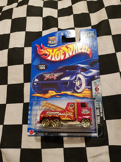 Hot Wheels 2003 Final Run (2002 Variation) Rig Wrecker Tow Truck