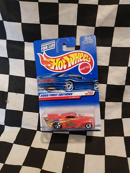 Hot Wheels 2000 First Edition 41 Willys Dragster
