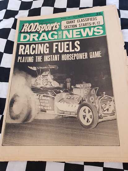 Australian Rodsports Drag Racing News #155