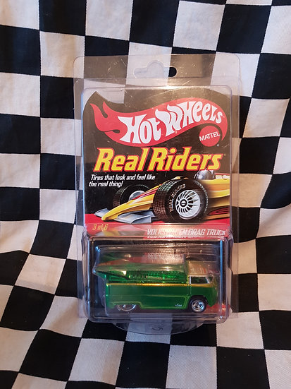 Hot wheels VOLKSWAGEN DRAG TRUCK Real Riders 3 of 6