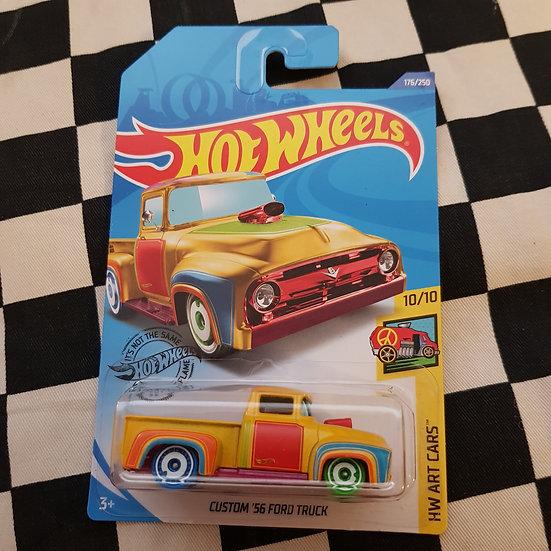 Hot Wheels 2020 Art Cars TREASURE HUNT Custom 56 Ford Truck F100 Pickup