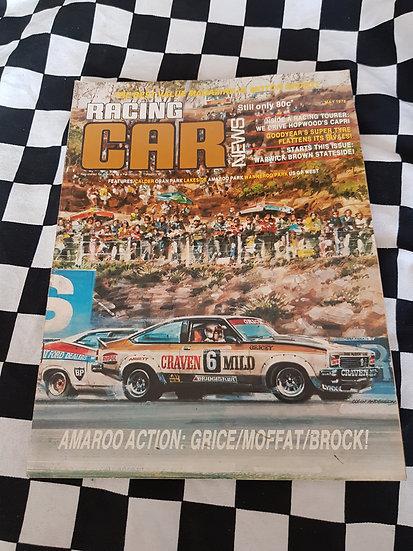 RACING CAR NEWS 5/78 Torana