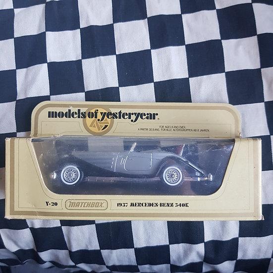 Matchbox Models of Yesteryear Y20 1937 Mercedes Benz 540K