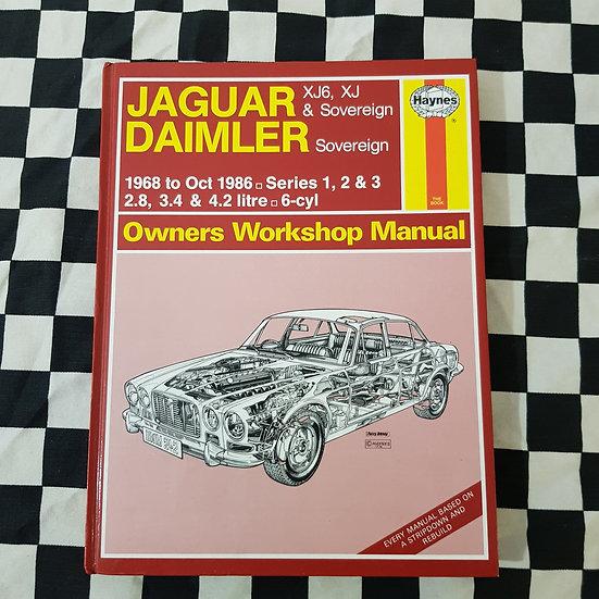 Jaguar Daimler Series 1, 2, 3 1968-1986 Workshop Manual
