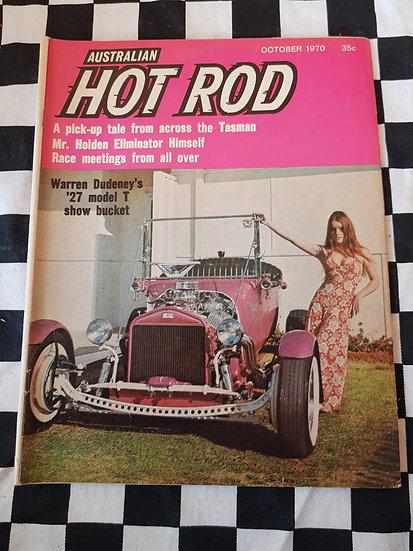 AUSTRALIAN HOT ROD october 1970