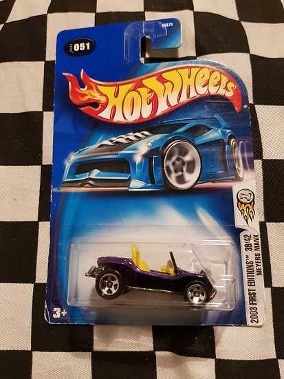 Hot Wheels 2003 First Editions Meyers Manx