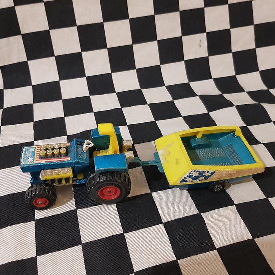 Matchbox Super Kings Mod Tractor & Trailer Set