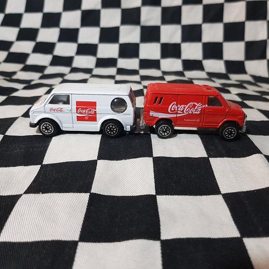 Hartoy Coca Cola Coke Bedfors Vans 1988 Loose