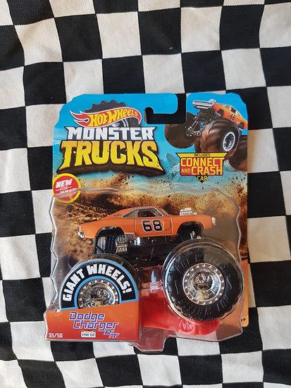 Hot Wheels Monster Trucks Dodge Charger R/T Dukes of Hazzard