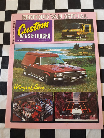 CUSTOM VANS & TRUCKS magazine #21