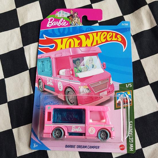 Hot Wheels 2021 Getaways Barbie Dream Camper