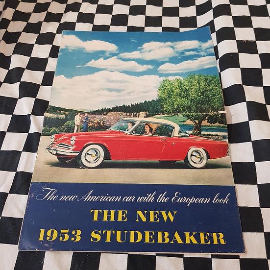 Original Full Colour 1953 Studebaker Sales Brochure