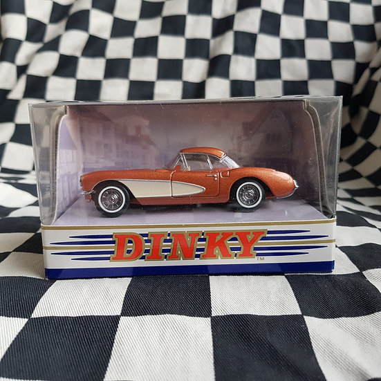 Dinky 1:43 By Matchbox Boxed 1956 Chevrolet Corvette Copper