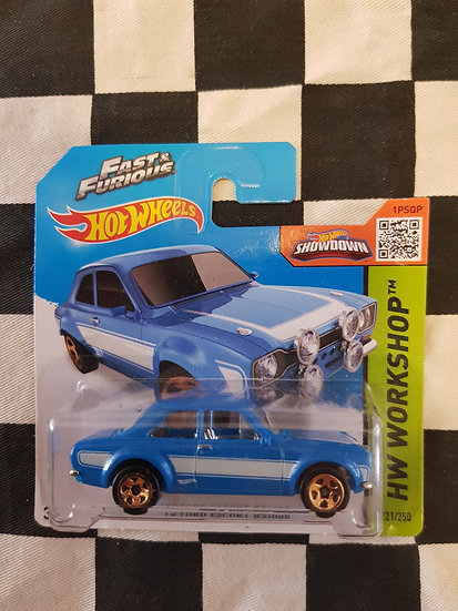 Hot Wheels 2013 Fast & Furious 70 Ford Escort RS1600 First Edition