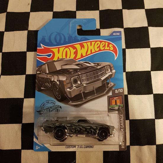 Hot Wheels 2019 Dream Garage Custom 71 El Camino Grey Mad Max