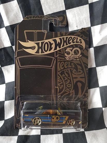 Hotwheels 50th Black & Gold 68 Dodge Dart