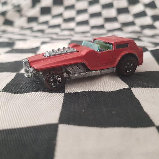 Vintage Hot Wheels Redline Hiway Robber Red Enamel