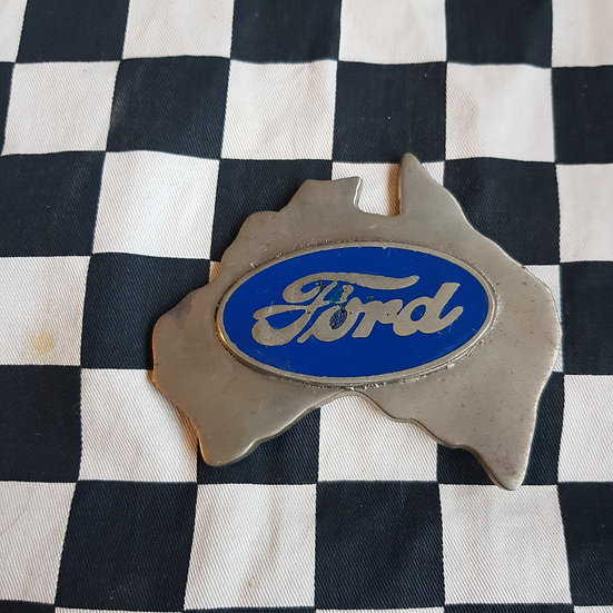 Thick Cast Ford Australia Plaque/ Paperweight