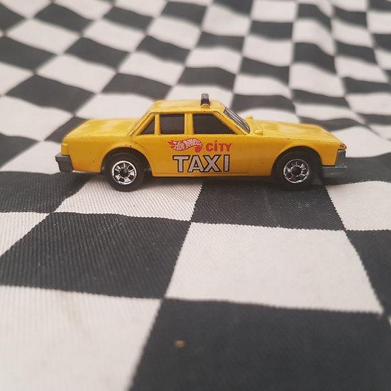 Vintage Loose Hot Wheels Crack Ups Yellow Taxi
