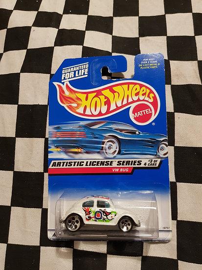 Hot Wheels 1997 Artistic License Vw Bug