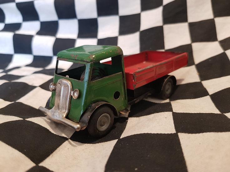 Vintage Tin Plate Clockwork Tri-ang Minic Truck