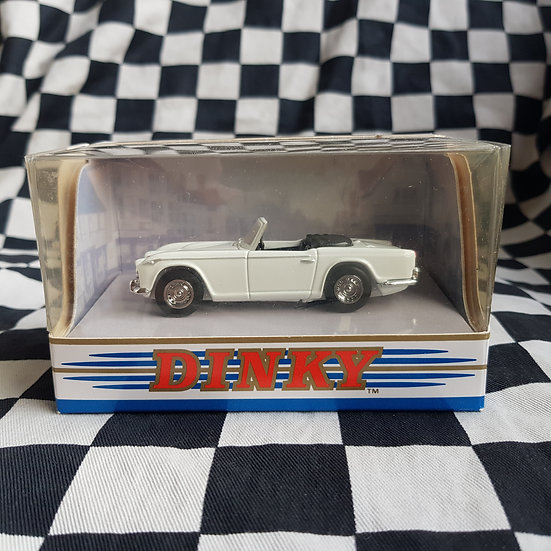 Dinky 1:43 By Matchbox Boxed Triumph  TR4A -IRS White
