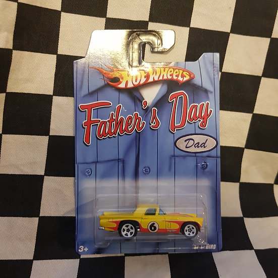 Hot Wheels USA Exclusive Fathers Day 57 T-Bird