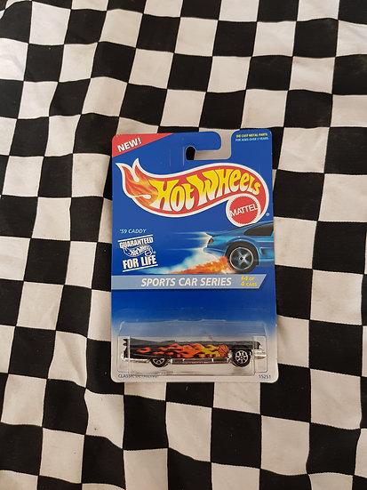 Hot Wheels 1995 Sports Cars Series 59 Caddy