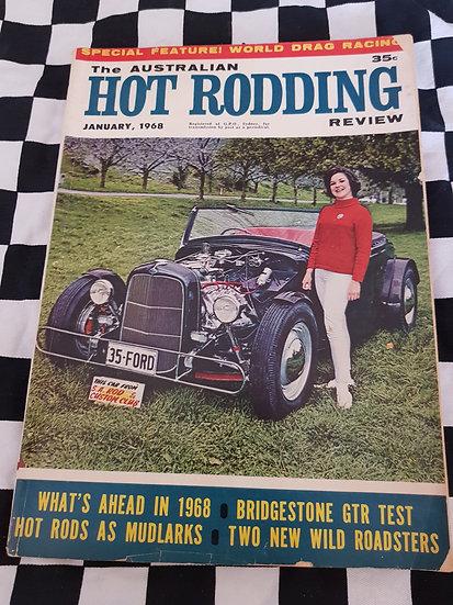 Australian Hot Rodding Review magazine Jan 1968