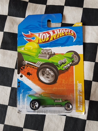 Hot Wheels 2011 First Edition Astro Punk Roth Styled Bubble Rod Rat Fink