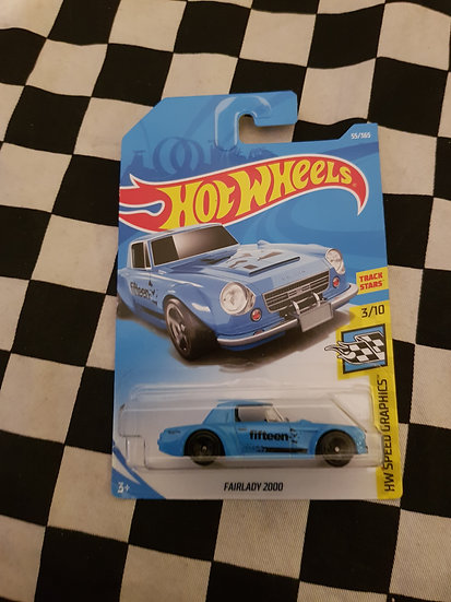Hot Wheels 2018 Speed Graphics Nissan Fairlady 2000