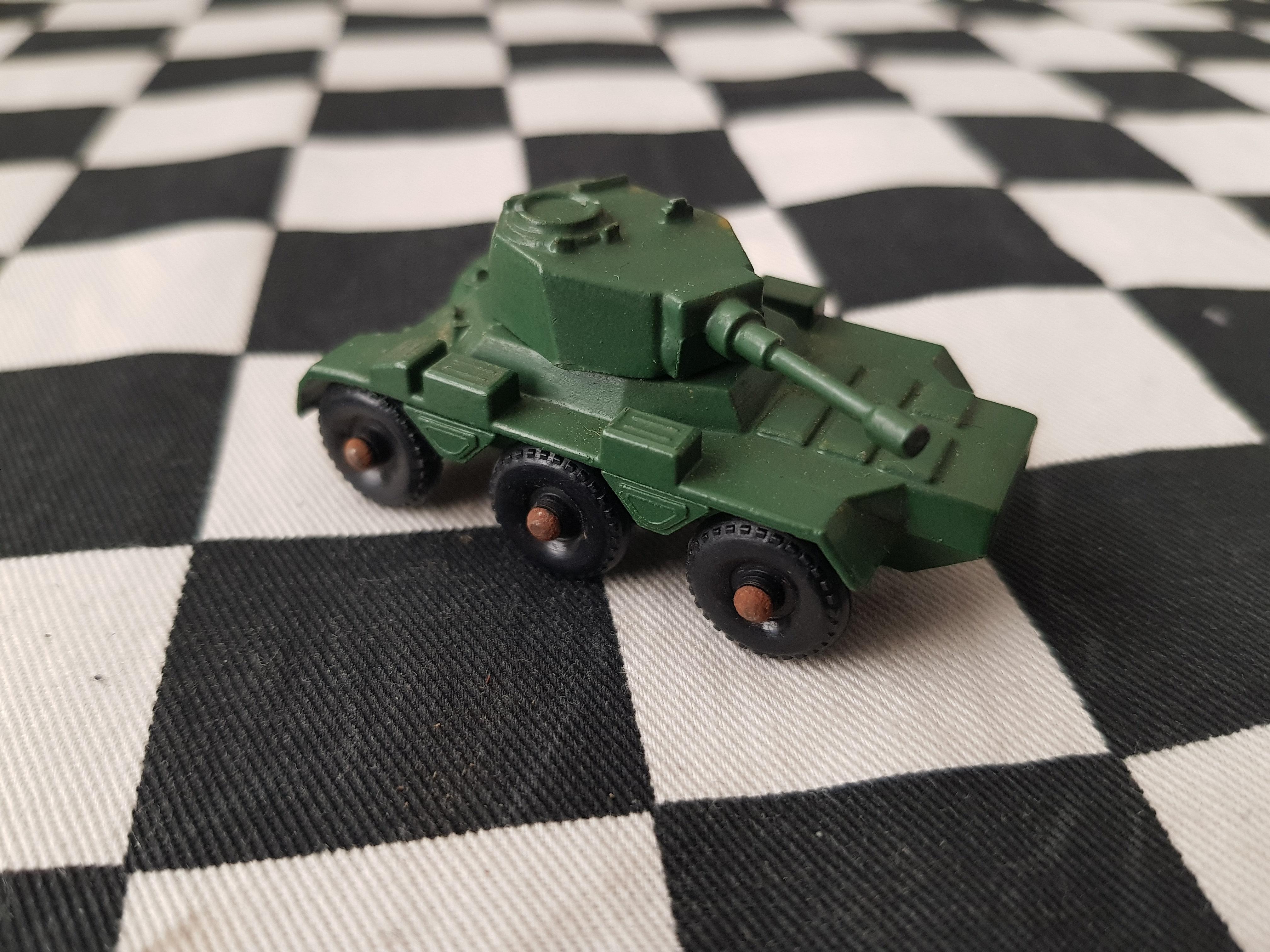 Lesney Saladin Armoured Car 6x6 Army
