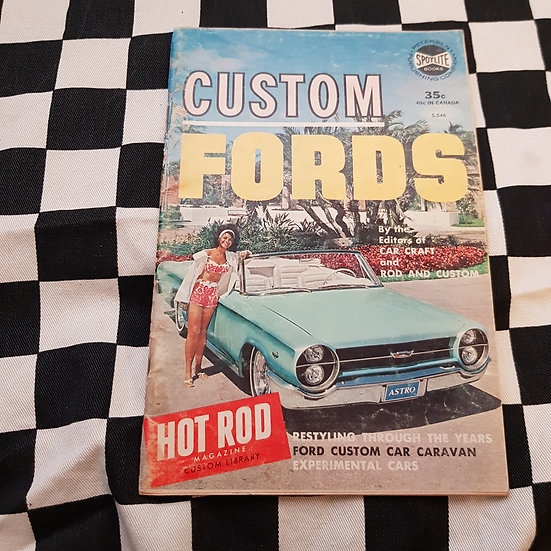 Little Pages Custom Fords By Car Craft, Rod & Custom, Hot Rod Magazine