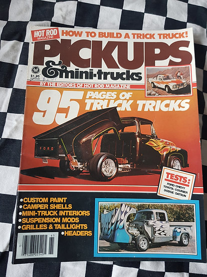 Hot Rod Magazine (usa) Pickups & Mini Trucks Special