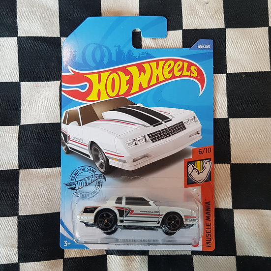 Hot Wheels 2020 Muscle Mania 86 Monte Carlo SS White