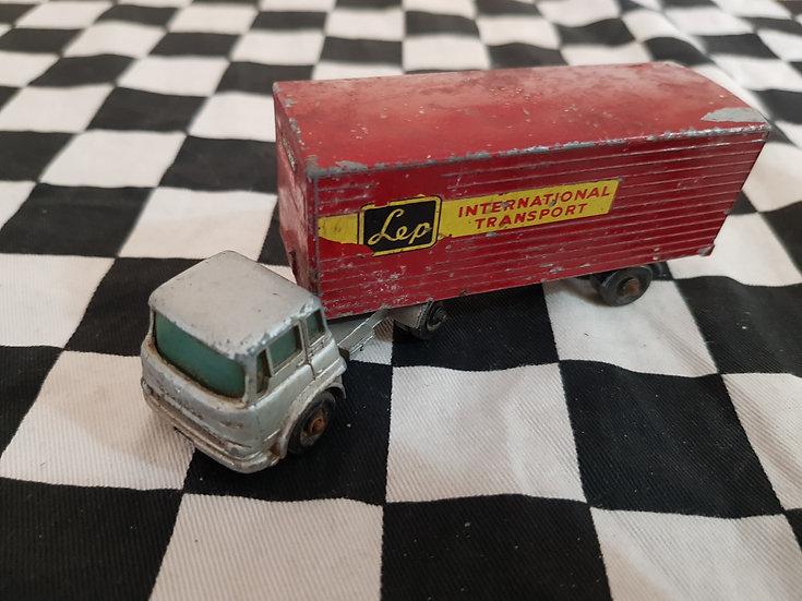Vintage Lesney Matchbox Major Bedford York Trailer Truck Lorry