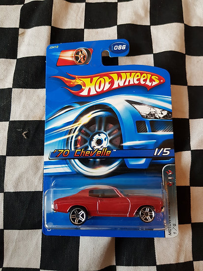Hot Wheels 2006 Motown Metal 1970 Chevelle