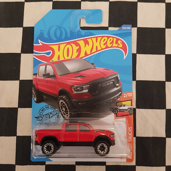 Hot Wheels 2020 Hot Trucks 2020 Dodge Ram 1500 Rebel red