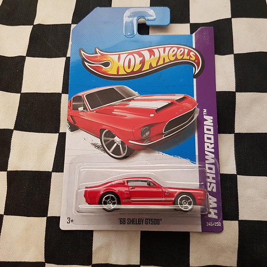 Hot Wheels 2013 Showroom 68 Shelby GT500 Ford Mustang Fastback Red