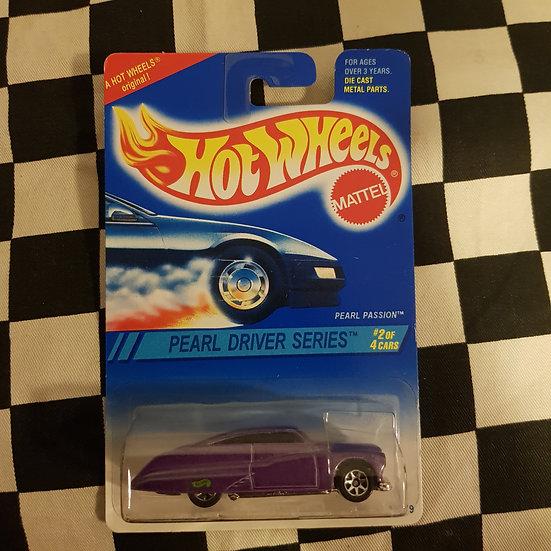 Hot Wheels 1994 Pearl Driver Series Pearl Passion Purple Mercury Leadsled Kustom