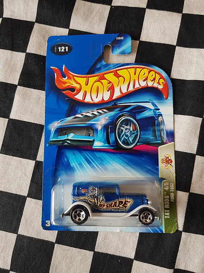 Hot Wheels 2004 Tat Rods 1932 Ford Delivery