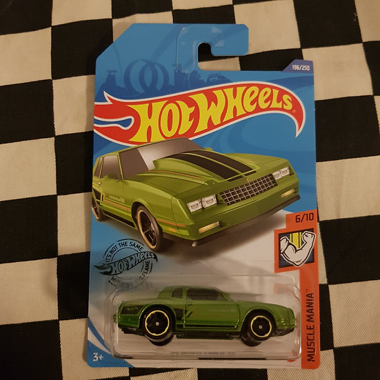Hot Wheels 2020 Muscle Mania 86 Monte Carlo SS Green