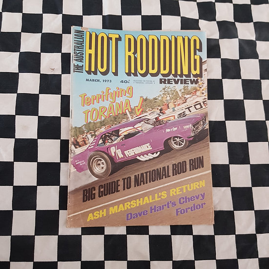 Australian Hot Rodding Review March 1973