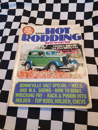 Australian Hot Rodding Review July/ September 1977
