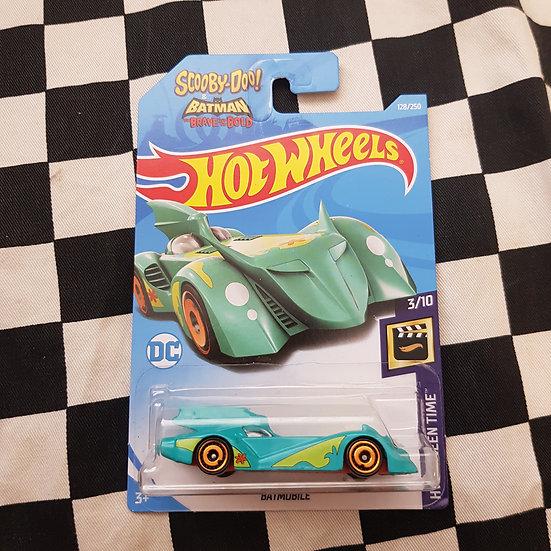 Hotwheels 2019 Screen Time Scooby Doo Batmobile
