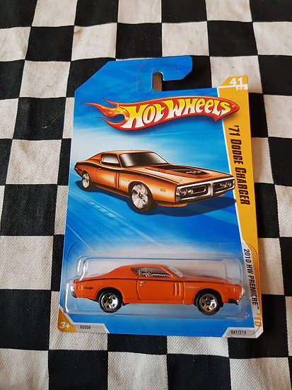 Hot Wheels 2010 First Edition 71 Dodge Charger