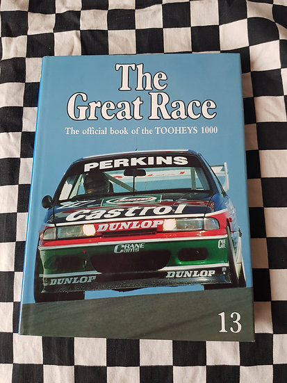 *RARE! The Great Race #13 1993-94 Book Bathurst Tooheys 1000